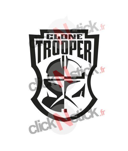 clone trooper star wars stickers
