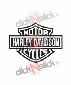 Logo Harley Davidson stickers