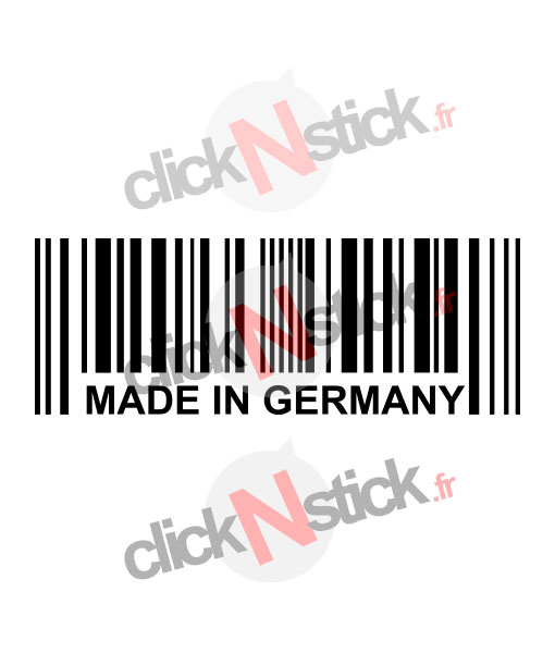 Made in Germany stickers