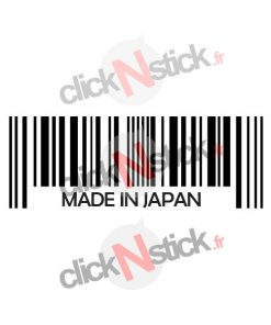 Made in Japan stickers