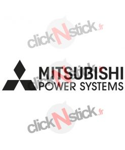 mitsubishi power systems stickers