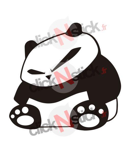 panda jdm stickers