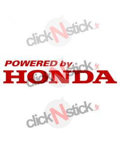 powered by honda stickers