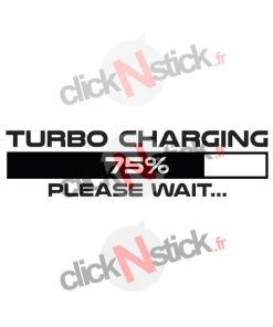Turbo charging fun stickers