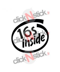 16s 16 s inside intel inside look stickers