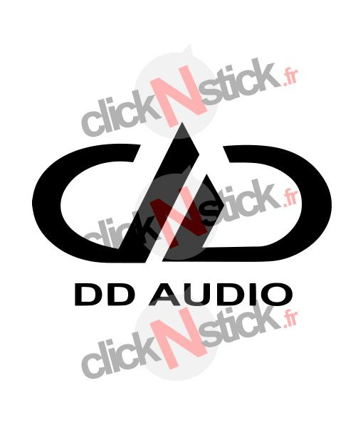 logo digital designs dd audio stickers