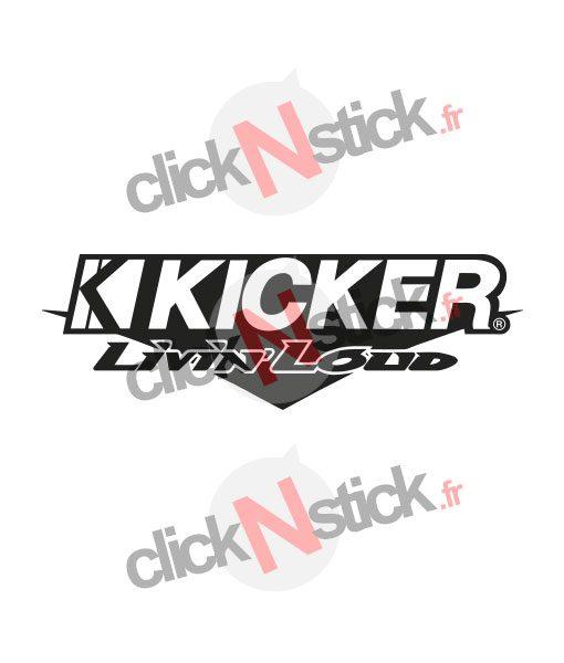 kicker spl flex démo audi stickers