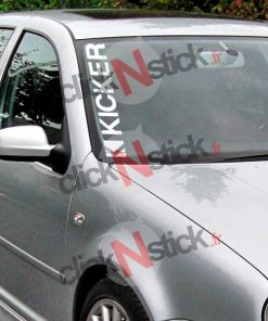 kicker car audio spl flex sticker