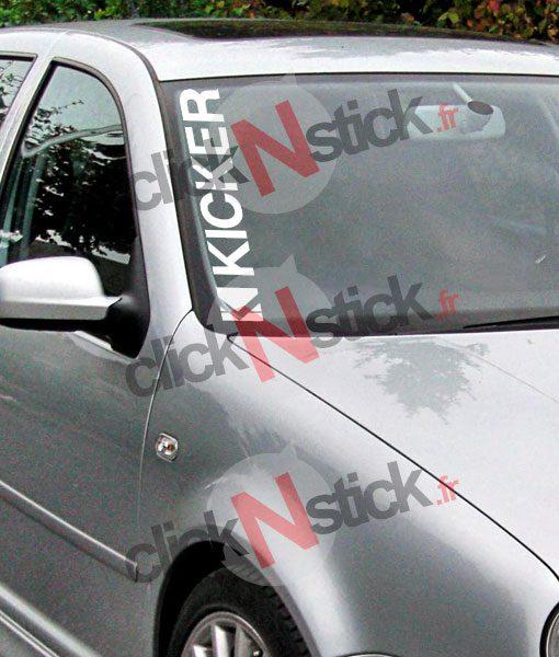 kicker car audio spl flex sticker