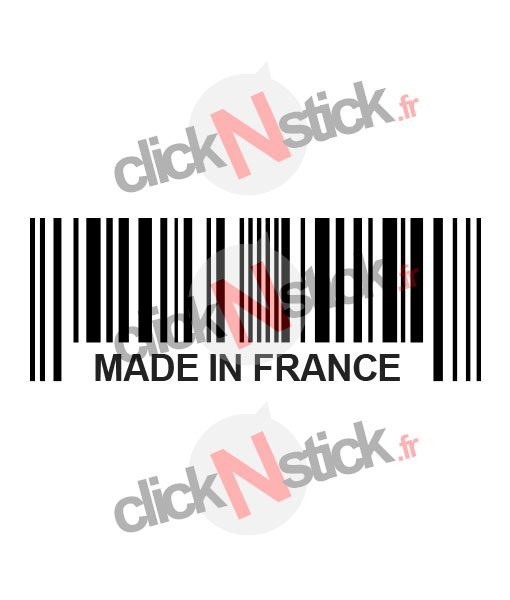 made in france stickers