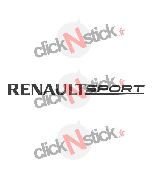 renault sport rs stickers