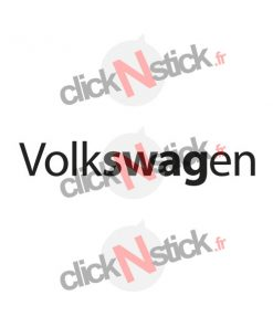 Volkswagen swag stickers