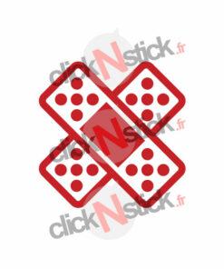 pansement sparadrap fail sticker