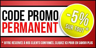 promotion permanente pour nos clients