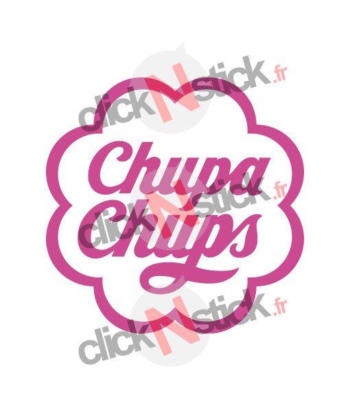 sticker fun sucette chupa chups