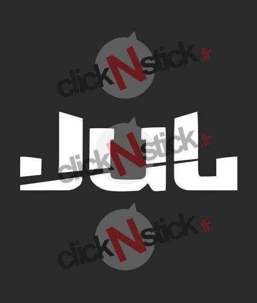 logo du rapeur jul