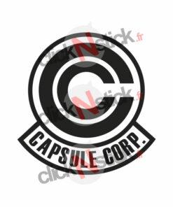 capsule corp dbz sticker