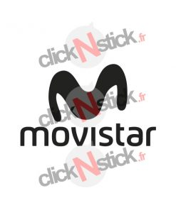 sticker movistar sponsor