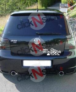 enjoy vw volkswagen life stickers