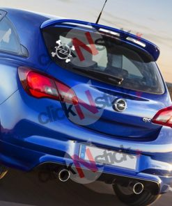 opel crane pirate sticker