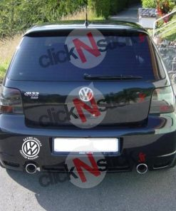 VW volkswagen eating hondas shittin nissans stickers