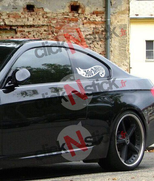 Hot Wheels opel sticker humour