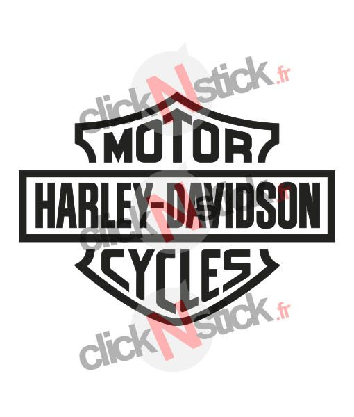 sticker Harley Davidson USA