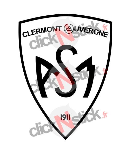 Sticker nouveau logo ASM clermont auvergne rugby