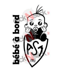 bébé à bord ASM clermont rugby garçon