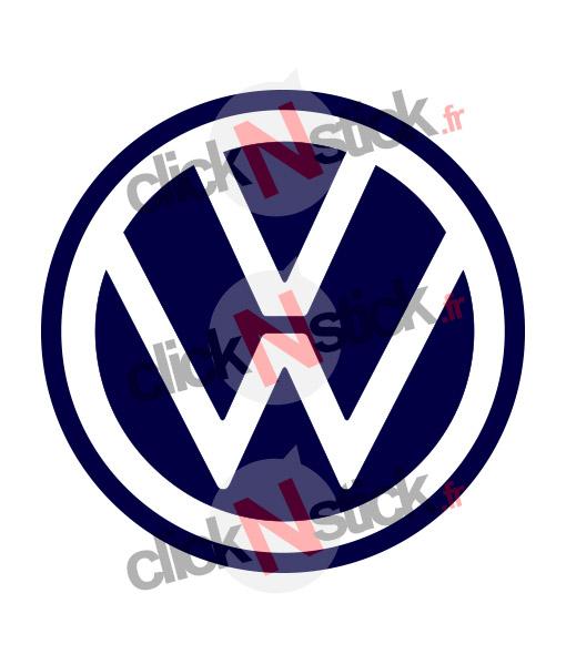 Volkswagen VW nouveau logo 2019 stickers
