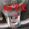 sticker rouge ou couleur au choix pour volant de golf 6 GTI