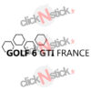 sticker groupe facebook golf 6 gti france