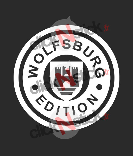 stickers wolfsburg edition vw